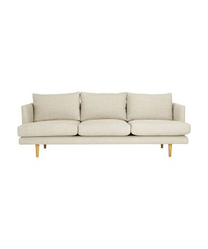 Domocasa Russel - Orange 2-Seater Sofa Bed