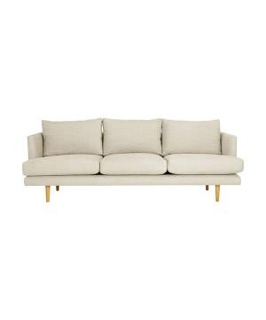 Domocasa Russel - Orange 2-Seater Sofa Bed