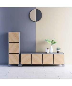 Kartell Small Ghost Buster - White Small Cabinet / Side Table