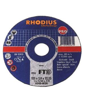 Rhodius FT33M - Cut-Off...