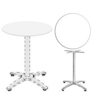 Werzalit Round Table Tops...