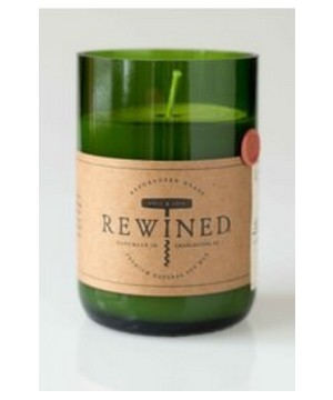 Rewined Merlot Candles