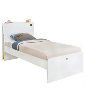 Cilek White Bed Frame with...
