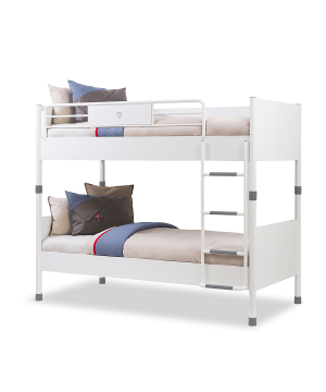 Cilek White Bunk Bed with...
