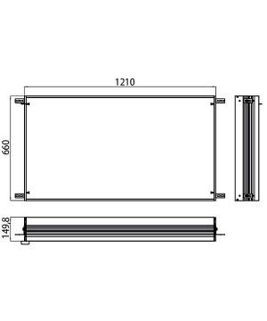 Emco Built-in frame for...