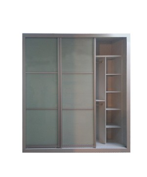 Homify 3-Door Sliding Wardrobe